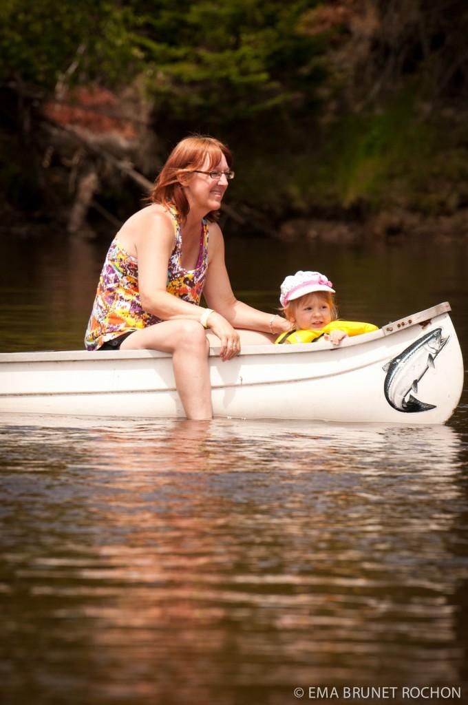 , L'activité de canot et kayak de la grande région de Tremblant