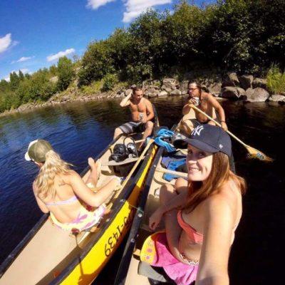 Canot et Kayak en famille à Rivère-Rouge